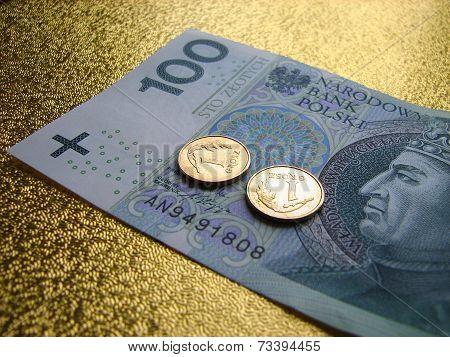 Polish money - 100 PLN
