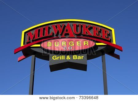 Milwaukee Burger Sign