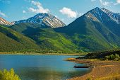 picture of rocky-mountains  - Colorado Twin Lakes Area - JPG