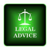 pic of judiciary  - Legal advice icon - JPG
