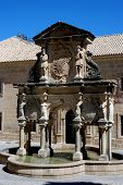 stock photo of baeza  - Fountain  - JPG