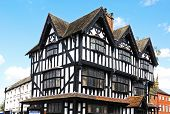 stock photo of hereford  - The High House in High Town Built in 1621 Hereford Herefordshire England UK Western Europe - JPG