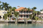 picture of mansion  - Luxurious mansion on Star Island in Miami Florida USA - JPG