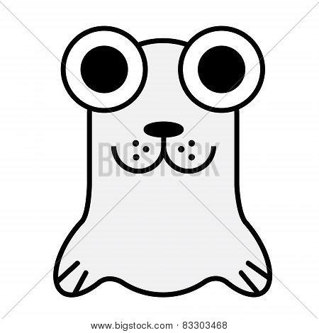 Big Eye Baby Seal.