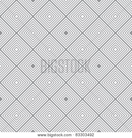 Seventies inspired retro background with seamless repeating square design