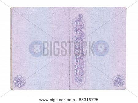 Opened Russian Passport