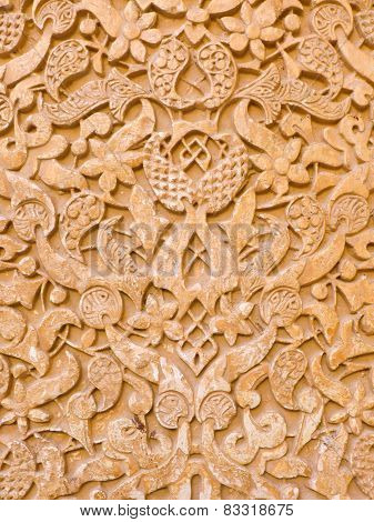 Detailed Arabic Carvings
