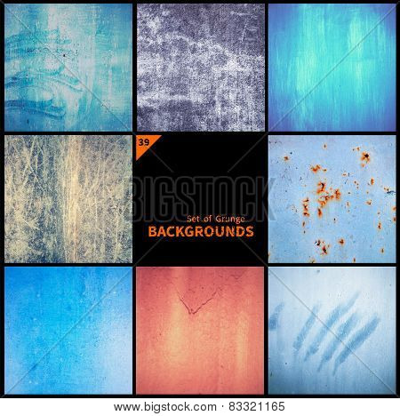 Collection Of Grunge Textures And Backgrounds