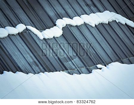 Melting Snow On The Roof