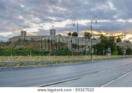 Citadel Kale in Skopje, Macedonia