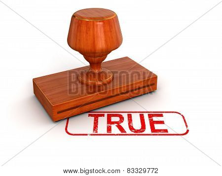 Rubber Stamp true  (clipping path included)