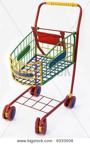 Kids' shopping trolley