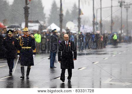 Former Romanian President Traian Basescu