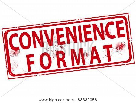Convenience Format Stamp