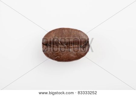 One Roasted Coffee Bean At The Center