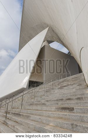 Stairs Of Calatrava's Oratorium
