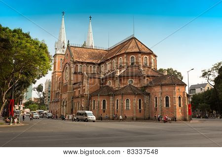 Notre-Dame Basilica - largest Roman Catholic Church in Vietnam
