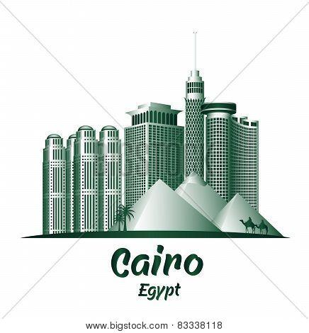 City of Cairo Egypt Famous Buildings