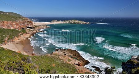 Beautiful Coastaline And Ocean In South Africa
