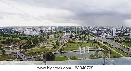 Panorama Of Minsk