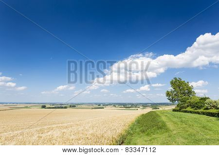 Eifel Summer Landscape, Germany