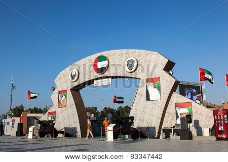 Armed Forces Pavilion at Dubai Global Village