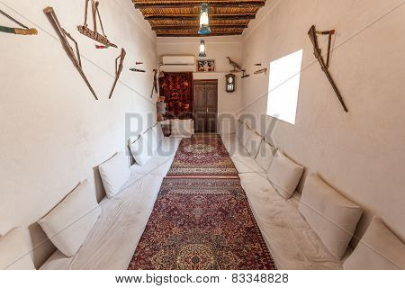 Traditional Bedouin Common Room