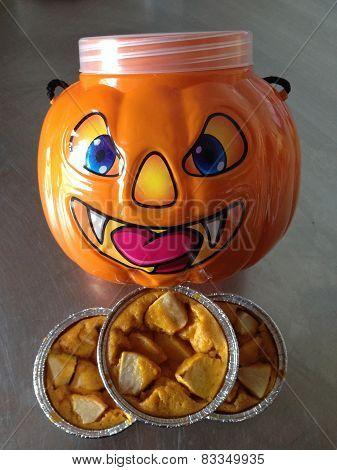 Apple Crumb Pie And Pumpkin Pie