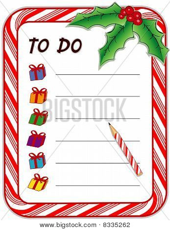 To Do Gift List