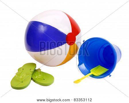 Beachball And Summer Toys