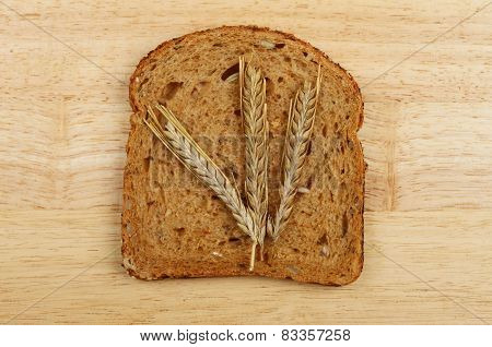 Wheat On Bread