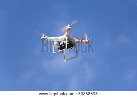 Drone Is Flying