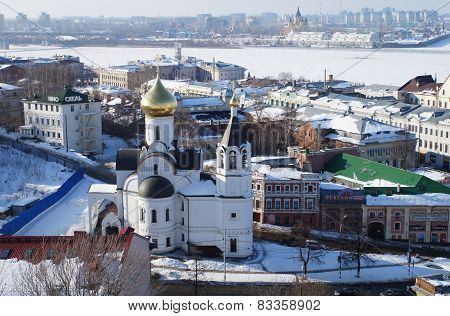 Church Of The Icon Of Our Lady Of Kazan Nizhny Novgorod