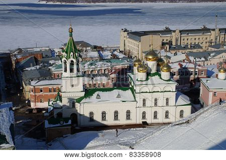 Church On The Square  National Unity In Nizhny Novgorod