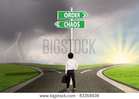 Choice Of Order Or Chaos