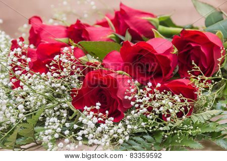 Romantic Red Rose Bouquet