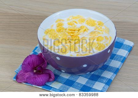 Breakfast With Cornflakes
