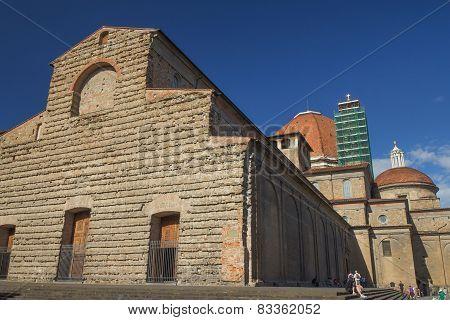 Sagrestia Vecchia In Florence (italy)