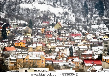 Winter Day In Old Town