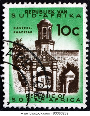 Postage Stamp South Africa 1961 Castle Entrance, Cape Town