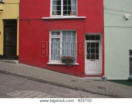 Red Terraced House