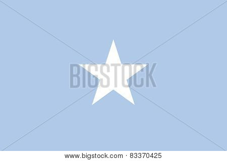 Federal Republic Of Somalia Official Flag