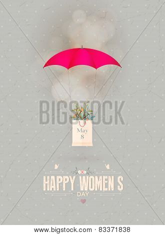 Happy Women's Day Gift Card
