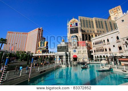 Las Vegas, Usa - March 19:venetian Resort Hotel And Casino On March 19, 2013 In Las Vegas, Usa. Las
