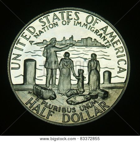 Statue of Liberty Commemorative Half Dollar