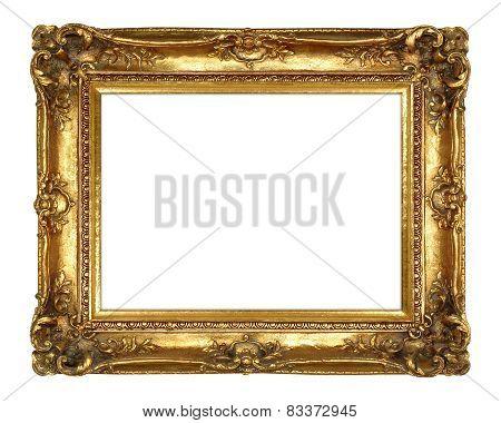 Traditional Elegant Gold Picture Frame