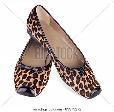 Leopard Fashion Flat Shoes