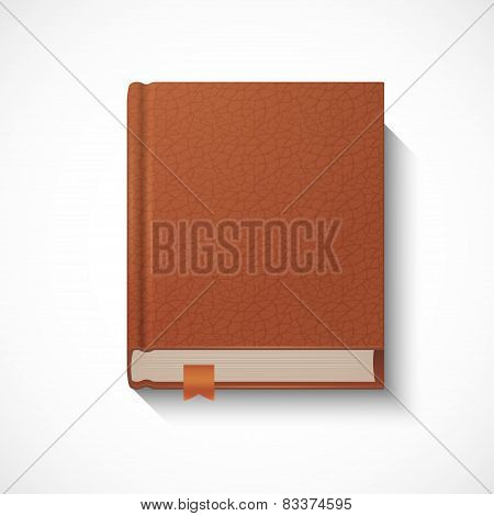 lather cover book template