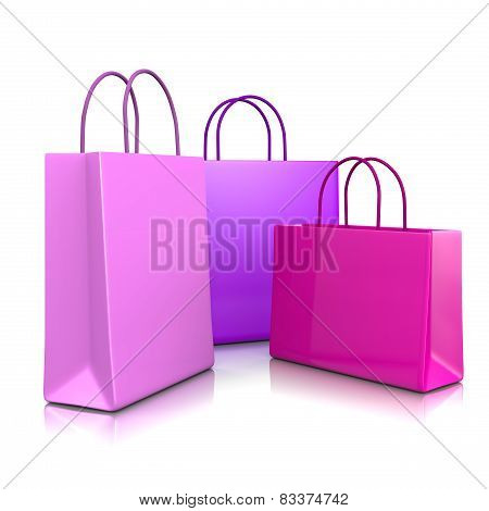Fashion Color Shopping Bags