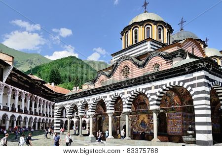 RILA MOUNTAINS, BULGARIA -JULY 27,2014
